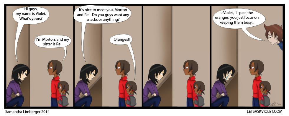 The Return of the Oranges