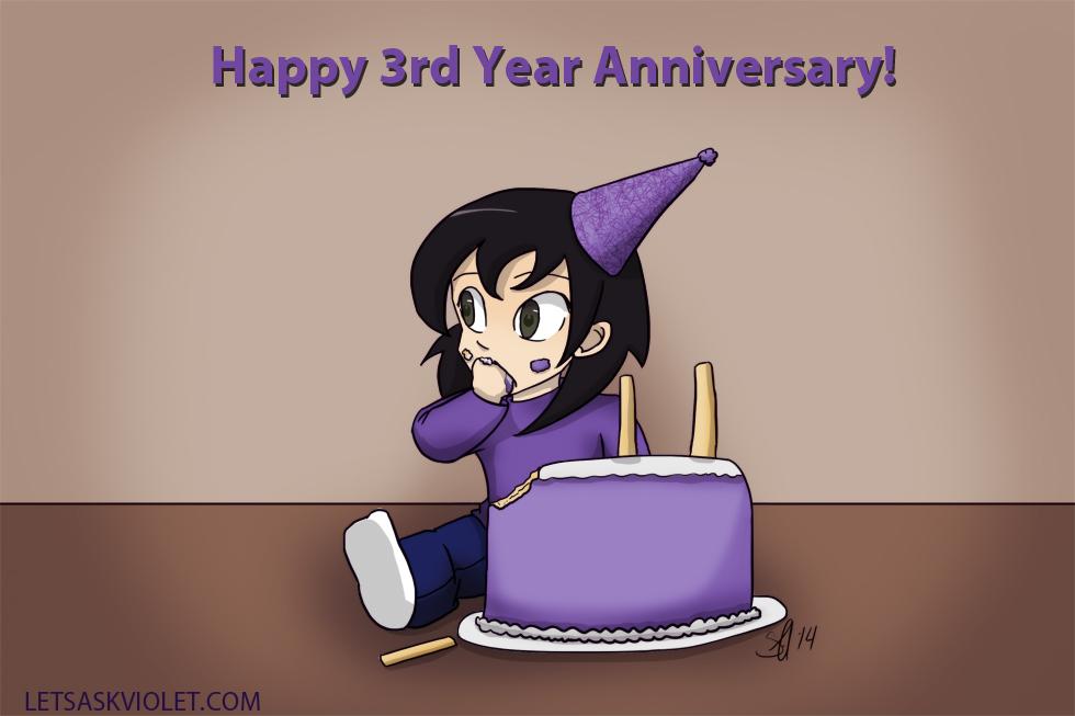 Happy Anniversary Year 3